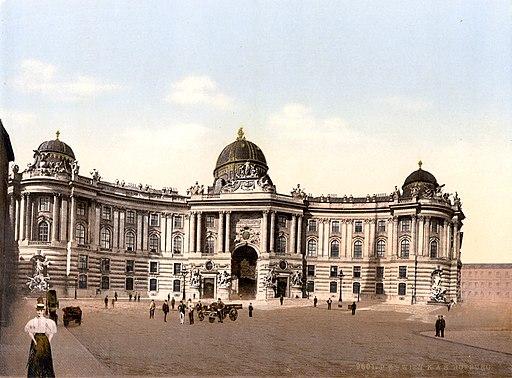Wien Hofburg um 1900