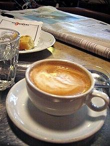 Cafe Trinken In Berlin Weissensee