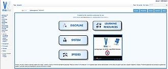 WikiVet - Image: Wiki Vet screenshot 2012