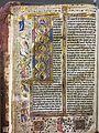 Wiki Loves Art - Liège - Bibliothèque de l'Université de Liège - Bible (détail) 02.jpg