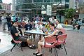 Wikimania 2013 - Iberocoop Chapters Village.jpg