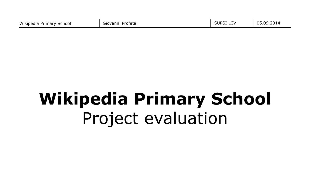 File Wikipedia Primary School Plan For The Project