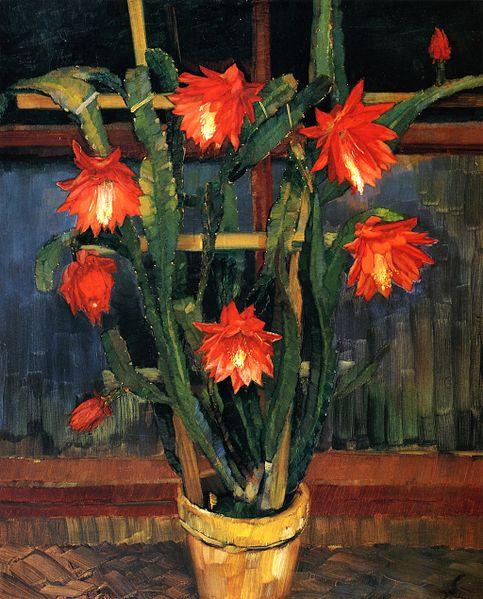 File:Wilhelm Trübner - Still Life with Cactus (15514734962).jpg