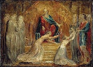 Judgment of Solomon - Image: William Blake The Judgment of Solomon