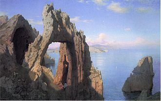 Arco Naturale - Image: William Stanley Haseltine Arco Naturale, Capri