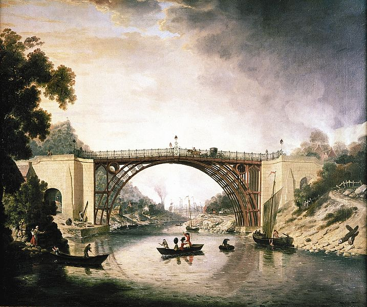 File:William Williams The Iron Bridge.jpg