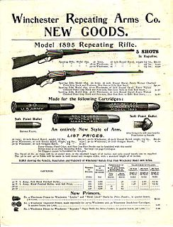 Winchester Model 1895 Type of Lever-action rifle