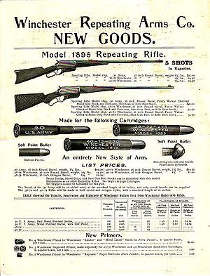 Winchester Model 1895 - Image: Win 1895advert