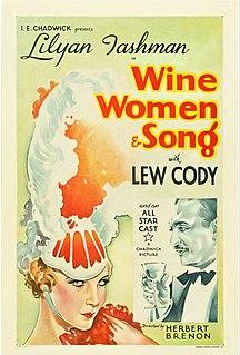 <i>Wine, Women and Song</i> (film) 1933 film by Herbert Brenon