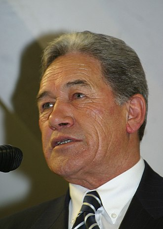 Minister of Foreign Affairs (New Zealand) - Image: Winston Peters, 2011