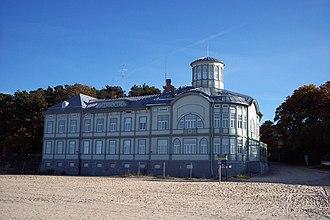 Majori - The former Emīlija Rācene beach house, built in 1916.