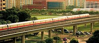 Woodlands, Singapore - Image: Woodlands Square and Woodlands MRT Station, Singapore 20051111