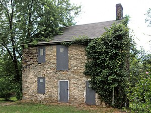 Hazelwood (Pittsburgh) - The John Woods House, built in 1792, is perhaps the oldest house in the city of Pittsburgh.