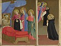 Workshop of Angelico - The Vision of the Dominican Habit, about 1430-40.jpg