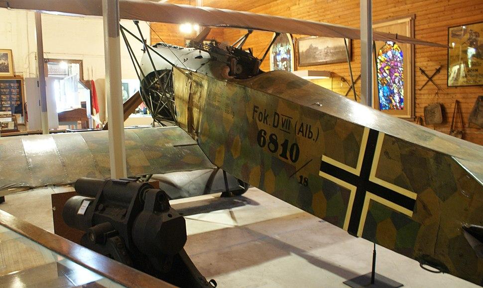 World War I Fokker aircraft-bi-plane in knowlton quebec