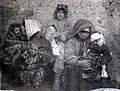 Wounded Muslim refugees from Alvar Village Erzurum at Caucasus Campaign in WWI.jpg