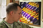Wounded combat veteran visits the NATO Role 3 Combat Hospital 141101-N-JY715-871.jpg