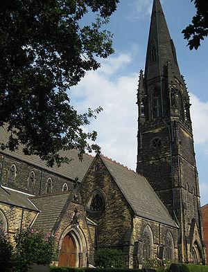 Hyde Park, Leeds - Wrangthorn Church