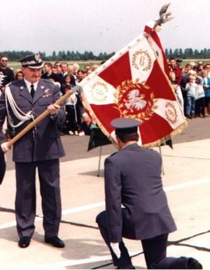 Air Force of the Polish Army - Standard of the 9th Fighter Squadron regiment