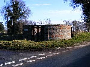 Wrentham, Suffolk - Image: Wrentham Pound