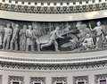 Wright Brothers frieze in U.S. Capitol dome, Washington, D.C LCCN2011630920.tif