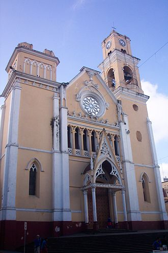 Xalapa - Xalapa Cathedral.