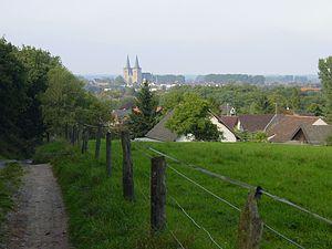Xanten - Image: Xanten Blick Von Hees