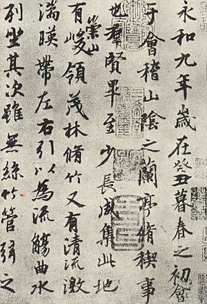 Chinese script styles