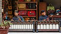 Yogyakarta Indonesia Gamelan-players-with-gendèr-02.jpg