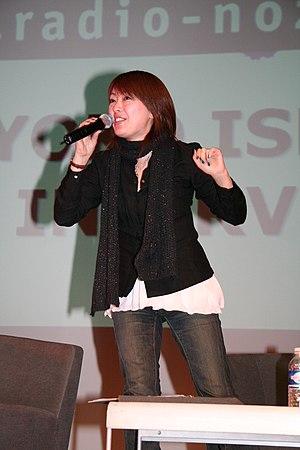 Yoko Ishida - Ishida at Manga Expo in Paris (2007)