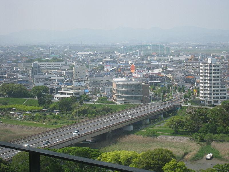 File:Yoshida Oohashi, in Toyohashi 2.jpg