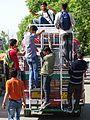 Young Men Hitching a Ride - Outside Hazratbal Shrine - Srinagar - Jammu & Kashmir - India (26233646403).jpg