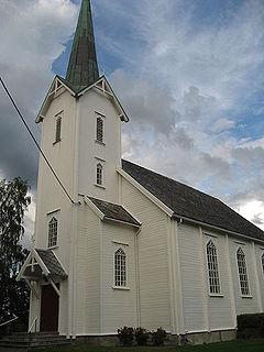 Ytterøy Church Church in Trøndelag, Norway