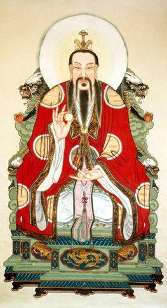 Three Pure Ones - Yuanshi Tianzun