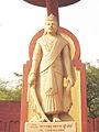Yudhishthira statue - Birla mandir.jpg