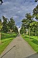 Zámecký park a kostel svatého Jiří, Velké Opatovice, okres Blansko.jpg