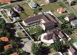 Aerial photograph of Zamárdi