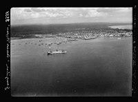 Zanzibar. Air view. The town with H.M.S. 'Pegasus' of war fame, seen in distance LOC matpc.17655.jpg