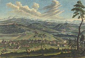 Neftenbach - Neftenbach in 1781