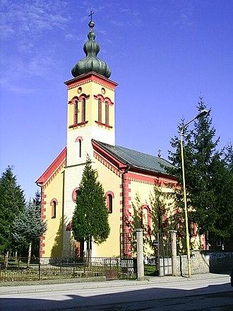 Žepče - Image: Zepce, katolicky kostel