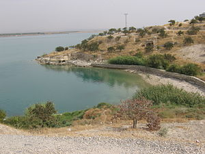 Zeugma, Commagene - Parts of Zeugma have become submerged in the Euphrates River since the construction of the Birecik Dam