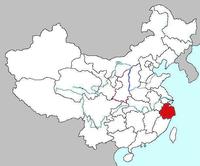 Map of Zhejiang