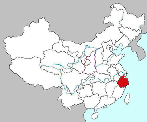 Maps of Zhejiang Province of China