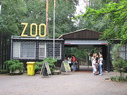 Vstup do zoo