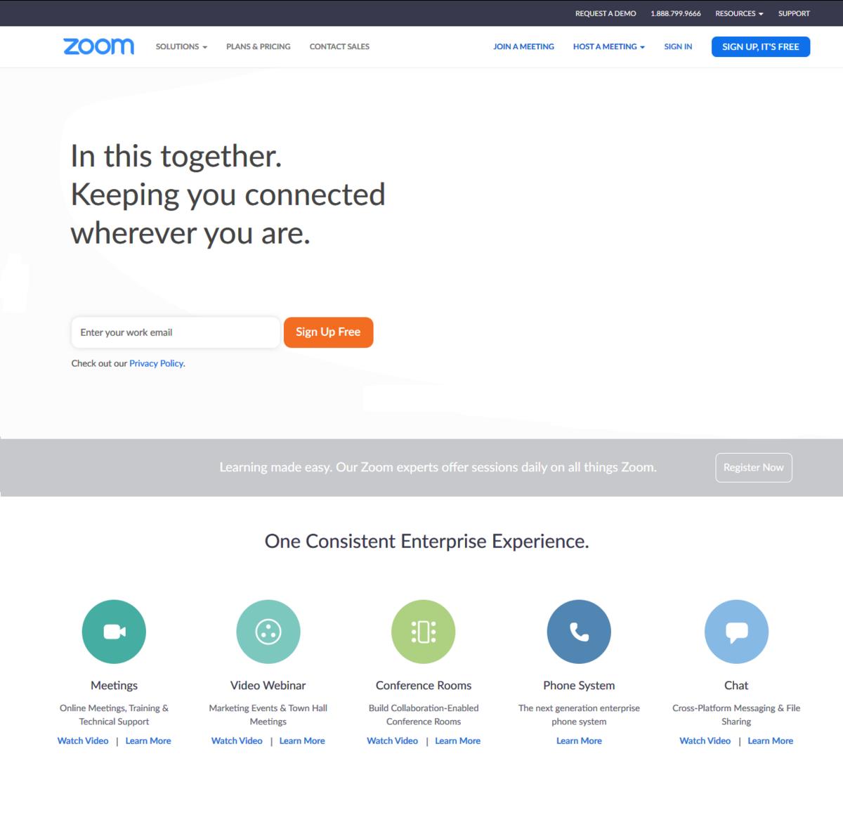Zoom Video Communications - Wikipedia