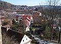 Zruč nad Sázavou, střed a Malá Strana, od zámku.jpg