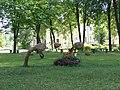 Zvēri pilsētas parkā, Zilupe, Zilupes novads, Latvia - panoramio.jpg