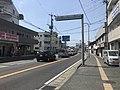 """""""Karatsu-Kaido"""" Road near Imajuku Station.jpg"""