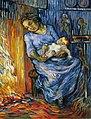 """""""L'homme est en mer"""", Vincent van Gogh, d'après Virginie Demont-Breton.jpg"""