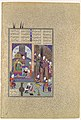 """""""The Shah's Wise Men Approve of Zal's Marriage"""", Folio 86v from the Shahnama (Book of Kings) of Shah Tahmasp MET DP107129.jpg"""
